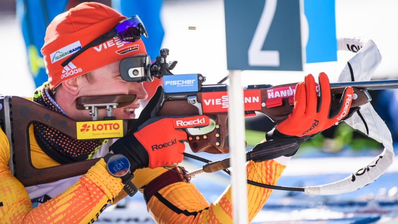 Antholz|Training | 4 x 7.5km Estafette Mannen