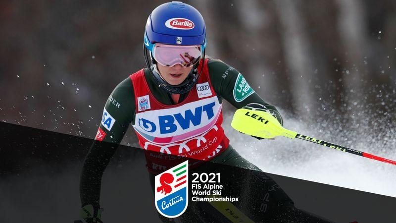 WK Alpineskiën|2e Run Slalom Vrouwen