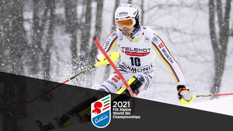 WK Alpineskiën|2e Run Slalom Mannen