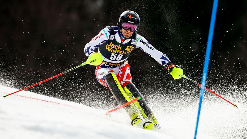 Kranjska Gora Herrar, slalom - 2:a åket