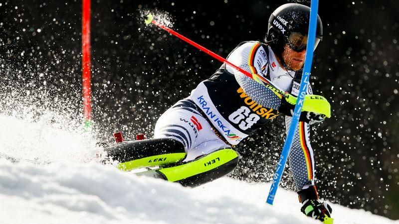 Kranjska Gora Herrar, slalom - 1:a åket