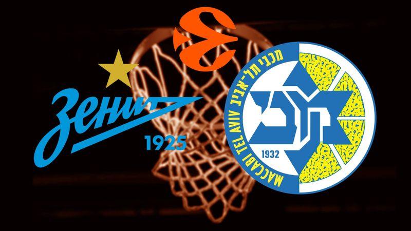 Zenit St. Petersburg - Maccabi Playtika Tel Aviv