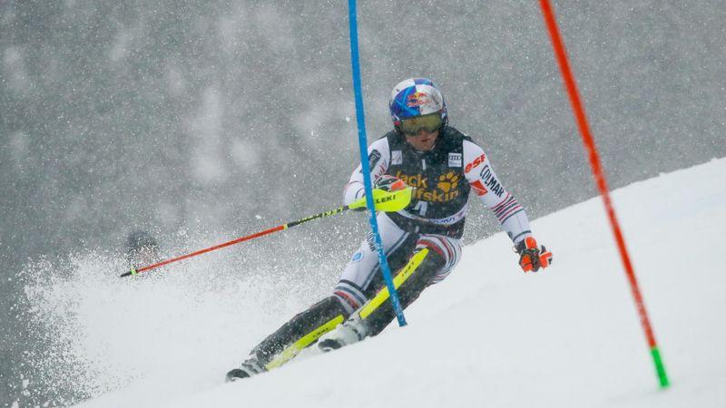 Lenzerheide|1e Run Slalom Mannen