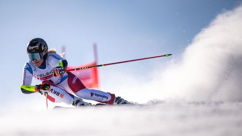 Lenzerheide|2e Run Slalom Vrouwen