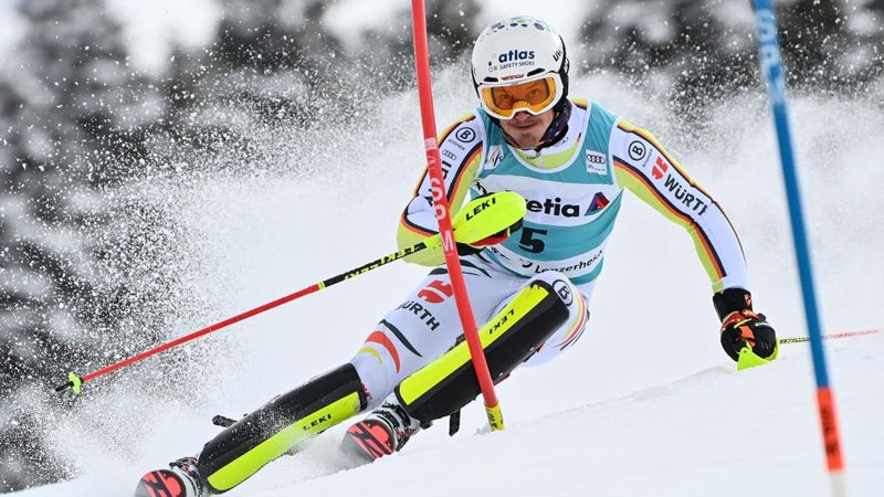 Lenzerheide|2e Run Slalom Mannen
