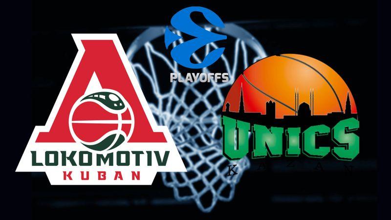 Lokomotiv Kuban - UNICS Kazan