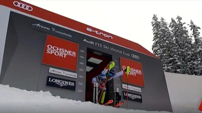 Lenzerheide Slalom feminin - Manşa a 2-a