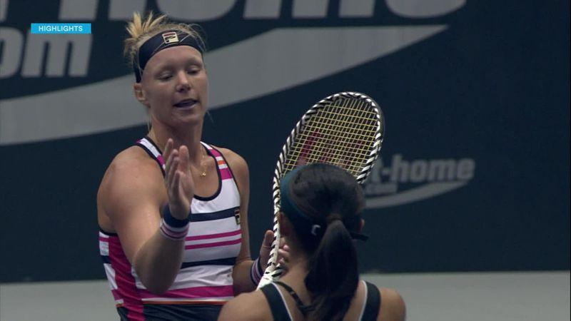 WTA Linz | Kiki Bertens in twee sets te sterk voor Doi
