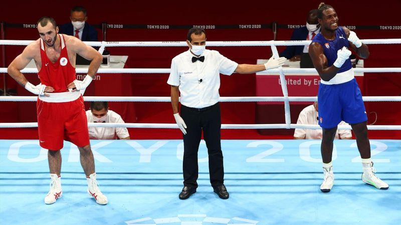 Tokyo 2020 - La Cruz  mot Gadzhimagomedov - Boksing – OL-høydepunkter