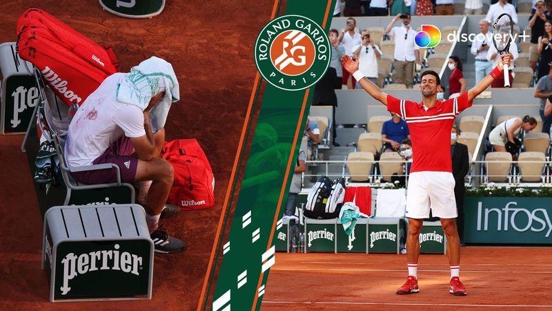 Djokovic - Tsitsipas - Roland-Garros