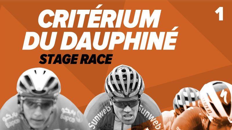 Wout van Aert a câștigat prima etapă de la Criteriul Dauphine 2020