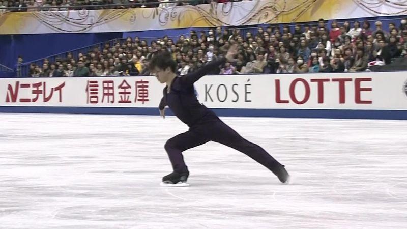 NHK Trophy: El brillante ejercicio del medallista olímpico Shoma Uno para ganar el programa corto