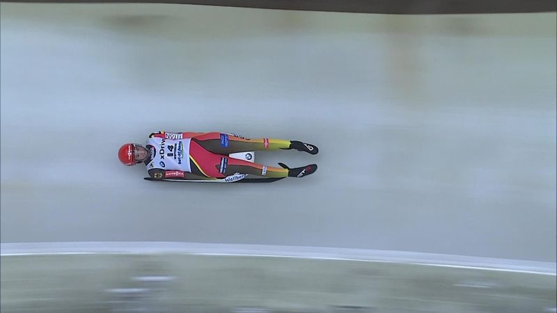 Dreifachsieg im Sprint: Geisenberger wird Weltmeisterin