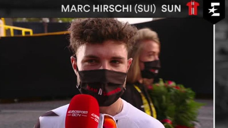 'It wasn't even a goal it was a dream to win a Tour stage' - Most-combative rider Marc Hirschi