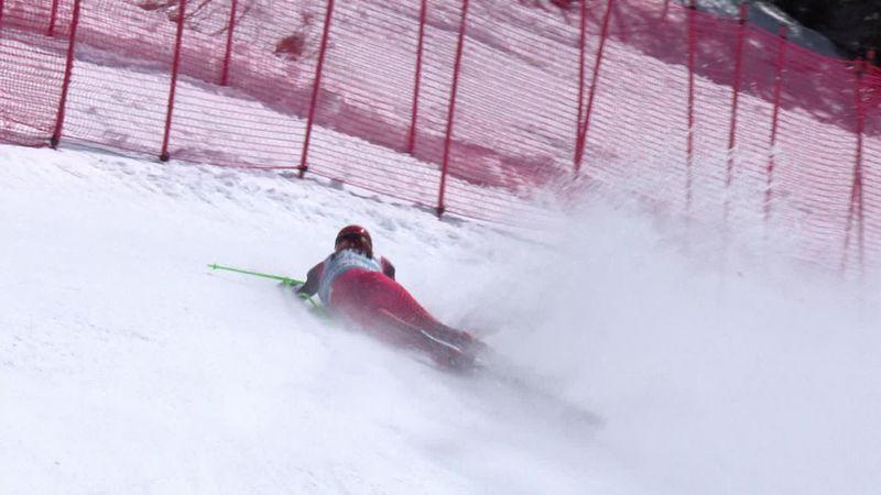 Crans-Montana, esquí: Los desgarradores gritos de Elisabeth Reisinger tras caerse nos dejan helados