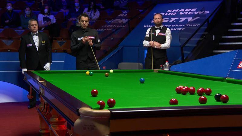 'The great man is flowing!' - Watch Ronnie O'Sullivan's full 137 break