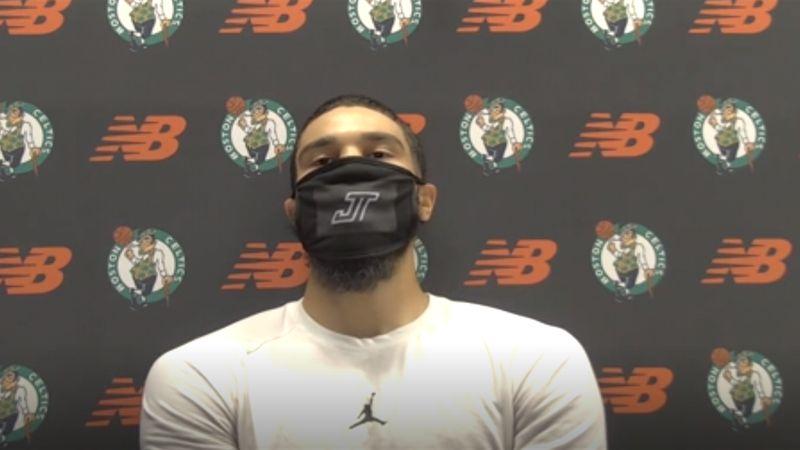 'We're more than just basketball players; we're people' - Jayson Tatum on NBA boycott