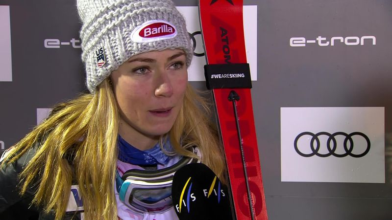 Shiffrin - 'I felt the pressure ... but I was consistent and tonight that was enough'