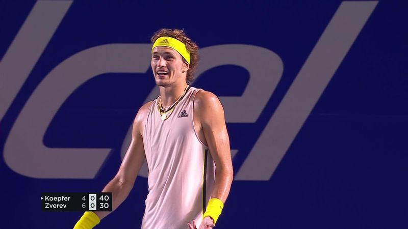 ATP Acapulco: Nemaiîntâlnit! Alexander Zverev a câștigat un punct în timpul unui... cutremur