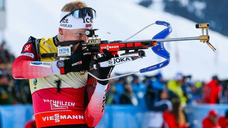 Hochfilzen | Noren winnen zinderende relay