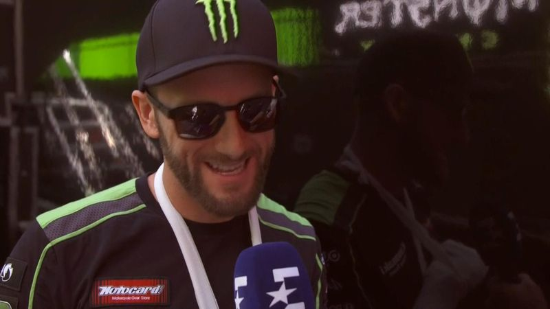 """Tom Sykes admits he's a """"very lucky man"""" after horror crash"""