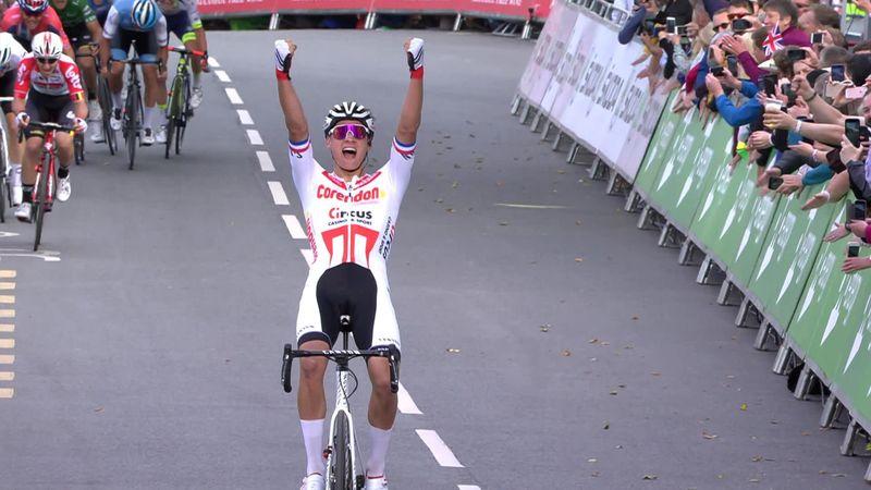 Mathieu Van der Poel til topps på den fjerde etappen