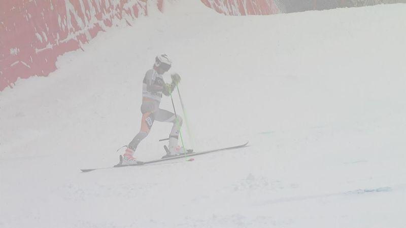 Esquí alpino, Copa del Mundo: ¡Trompos en la nieve! El infortunio de Windingstad
