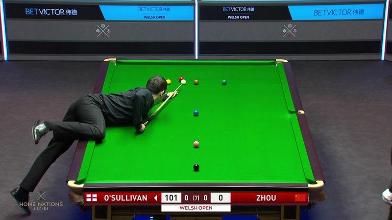 O'Sullivan, în sferturi la Welsh Open după un singur frame cedat. Cel mai mare break al lui Ronnie