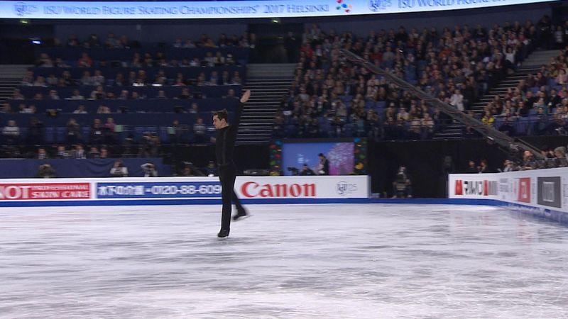 Javier Fernandez imponerte alle i Helsingfors