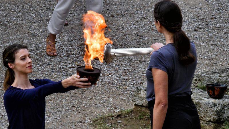 La llama olímpica de Beijing 2022 ya está encendida: así fue la emocionante ceremonia