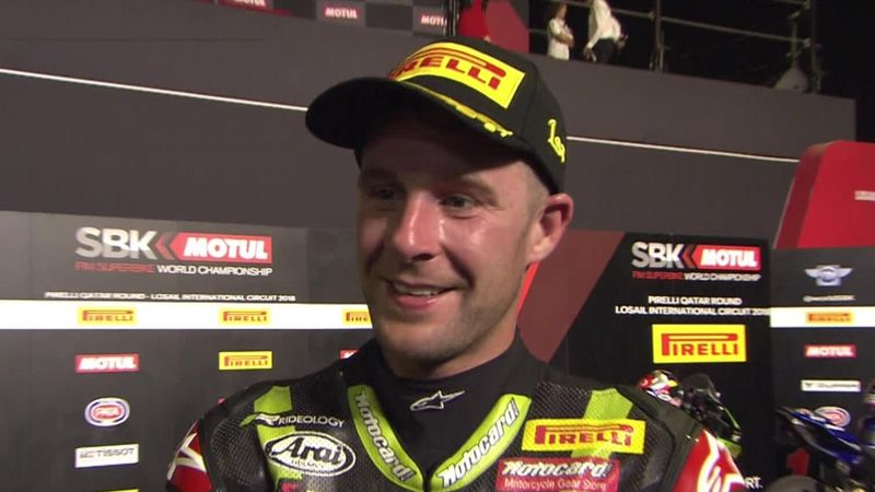 Rea: I am fortunate to be with the Kawasaki Racing Team