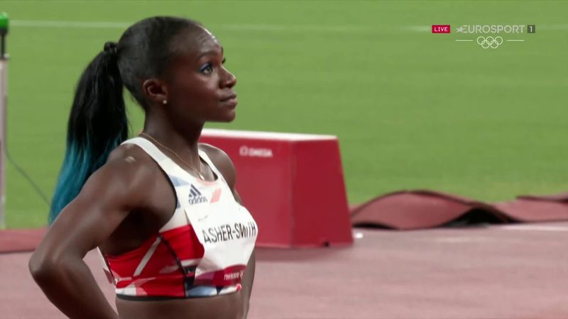 'Absolutely gutting' - Rutherford crushed by Asher-Smith not making 100m final