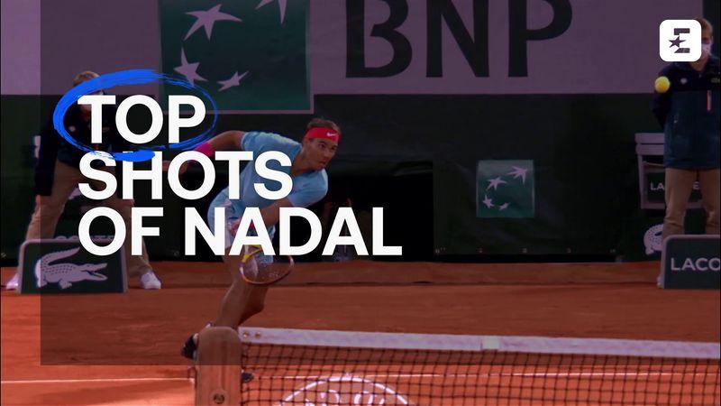 Roland-Garros: Rafael Nadal'ın en iyi beş puanı