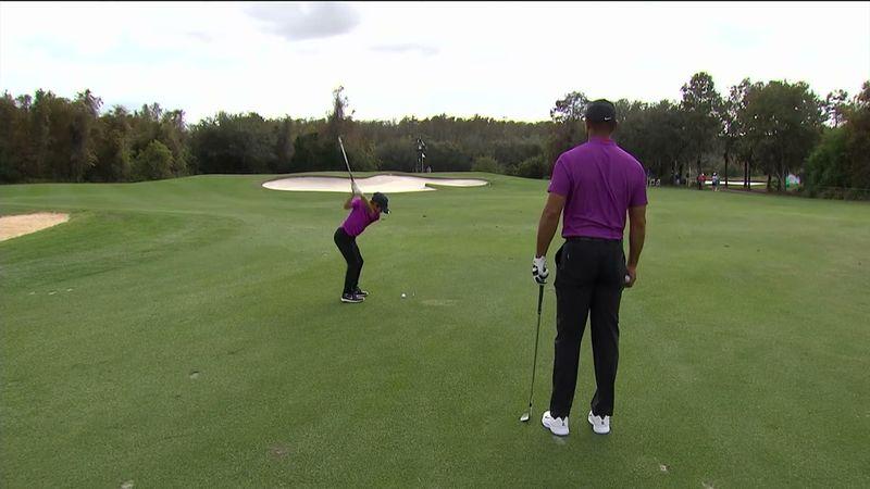 Tiger Woods' sønn imponerte ekspertene: – Sjekk den avslutningen!