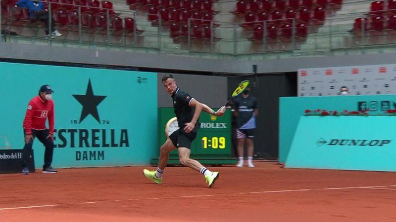 ATP Madrid: Punctul anului în tenisul mondial? Lovitura ireală a lui Fucsovics