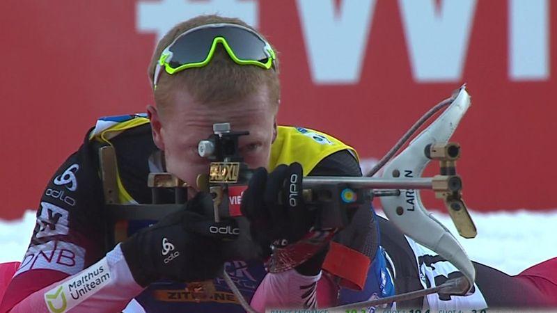 Biatlón: Johannes Thingnes Boe domina los 10 km esprint de Pokljuka en un mal día de Fourcade