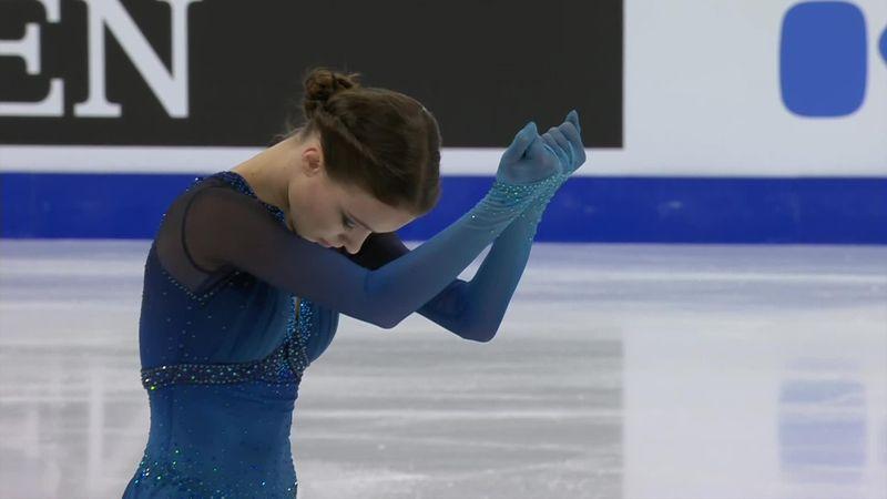 Műkorcsolya-világbajnokság: Anna Scherbakova vezet a rövidprogramot követően