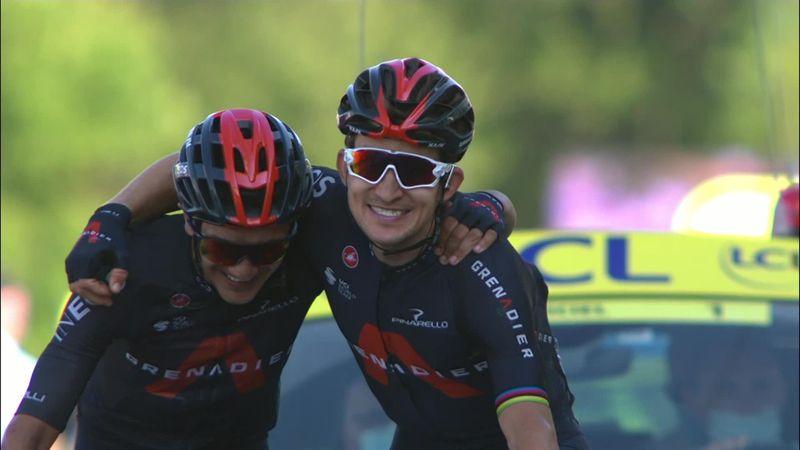 Se høydepunktene: Kwiatkowski tok seieren på den 18. etappen
