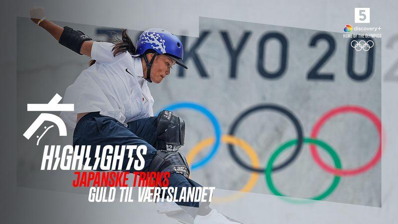 Highlights: Dobbelt japansk succes i kvindernes park skateboard