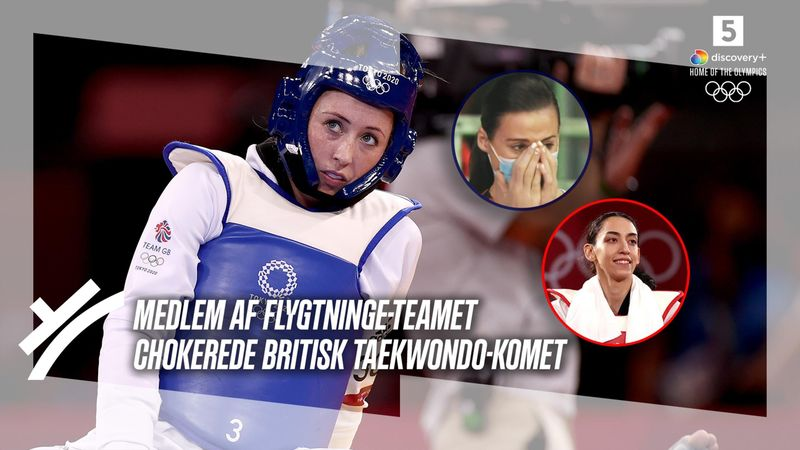 Grådkvalte briter: Flygtning-underdog spolerer medaljerekord i taekwondo