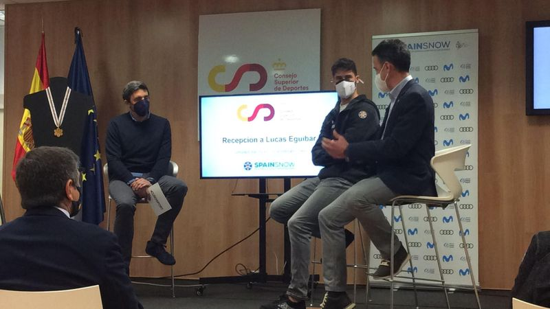 Lucas Eguibar revive con José Manuel Tallada cómo se proclamó campeón del mundo