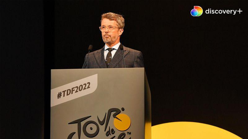 """Se Kronprins Frederiks tale ved Tour-præsentationen – """"Cykling er en del af vores DNA"""""""