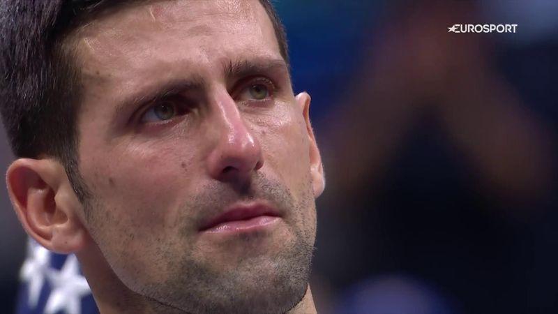 """El discurso más difícil de Novak Djokovic: """"Nunca me había sentido así"""""""