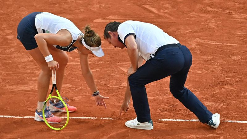 'No way!' - Krejcikova has to win match TWICE after huge umpire blunder