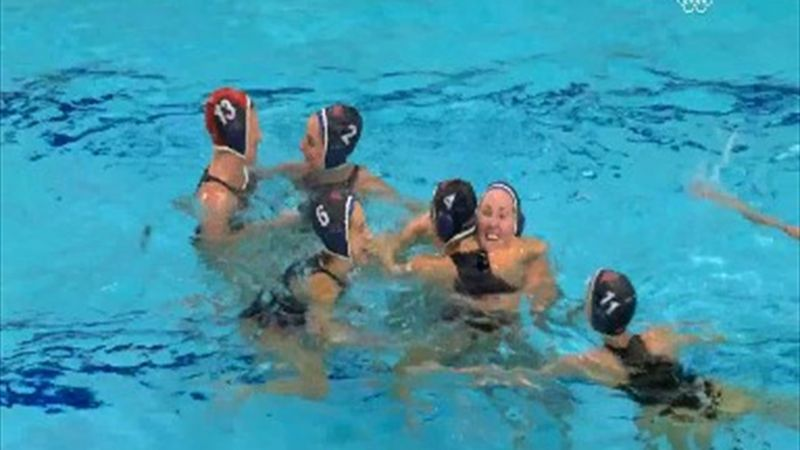 SUA au câștigat finala olimpică la polo feminin, după o victorie clară contra Spaniei