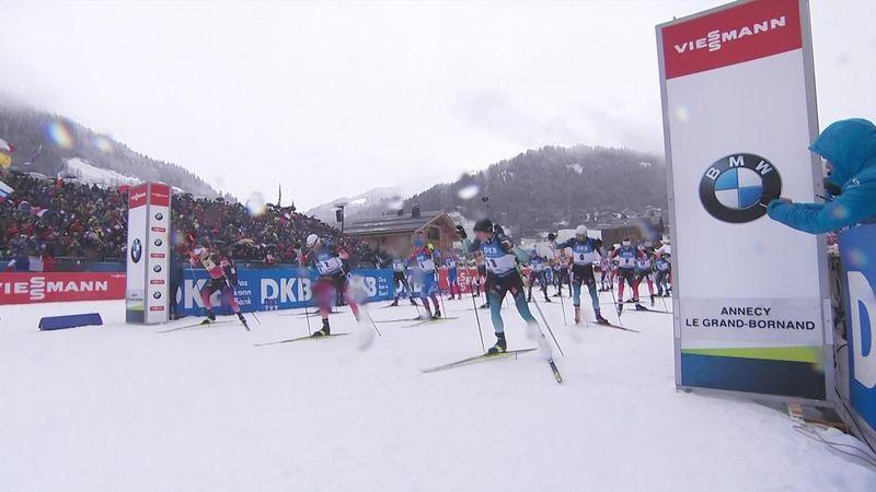 Doppietta dei fratelli Boe nella mass start: Johannes primo, Tarjei terzo