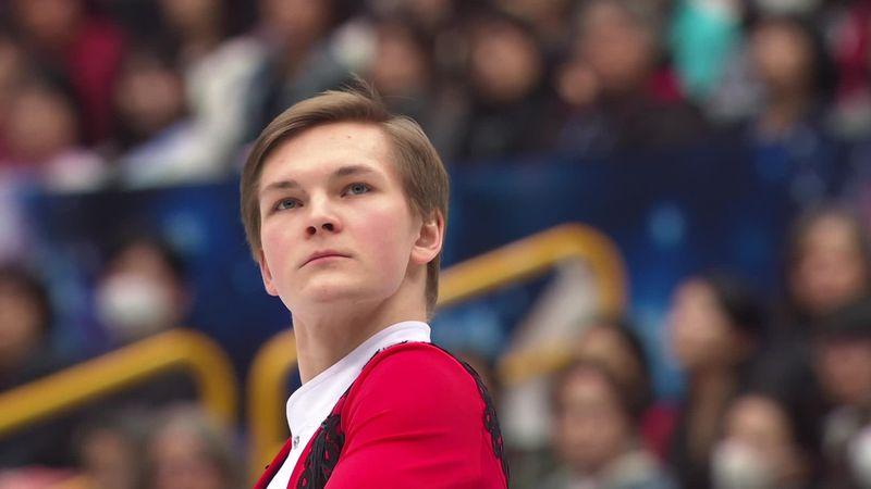 Михаил Коляда хорошо откатал произвольную программу и даже не упал