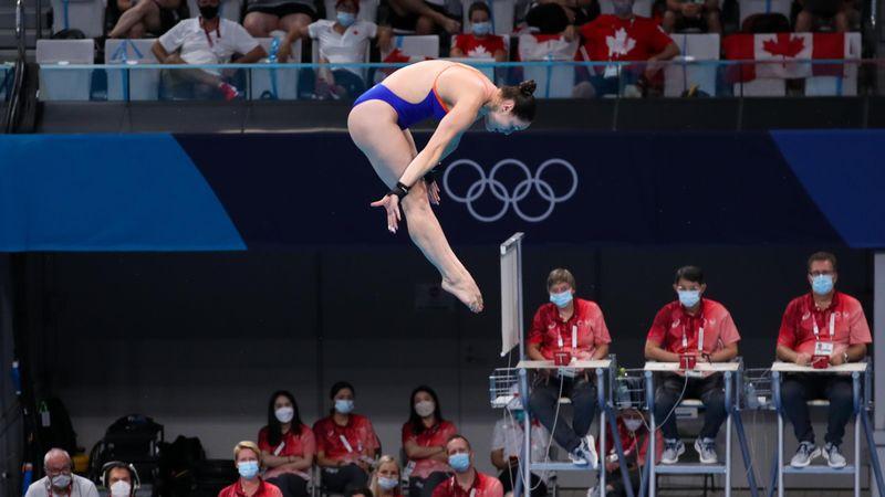Tokyo 2020 | Finalesprongen Celine van Duijn