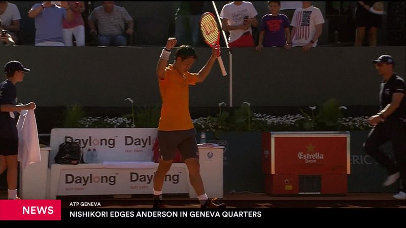 ATP di Ginevra: Kei Nishikori supera Kevin Anderson in tre set