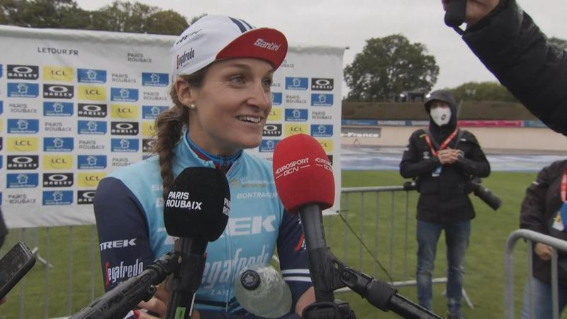 'Absolutely not. Who makes that plan?' - Lizzie Deignan says she rode on instinct